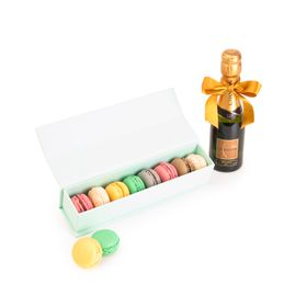 Macarons + Baby Chandon