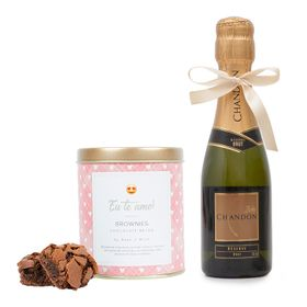 Chandon com Lata Brownie - Eu te amo
