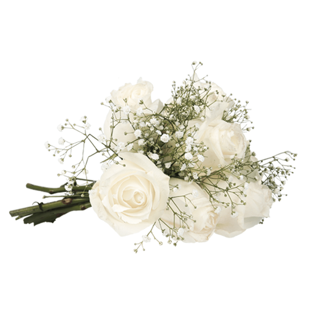Buque-White-Surprise-com-Flores-Brancas-P